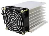 Radiator pentru relee trifazice, cu ventilator 220V, QLT Power - 006394