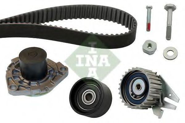 Set pompa apa + curea dintata FIAT LINEA (323) (2007 - 2016) INA 530 0561 30