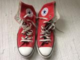 Converse all star tenisi bascheti culoare rosu unisex textil vietnam nr 41 cm 26