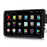 Navigatie auto dedicata VW, 9inch, Android + camera marsarier + OBD