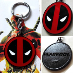 Breloc Deadpool Marvel metalic