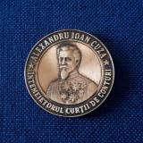 Medalie Al. I. Cuza - Intemeietorul Curtii de conturi