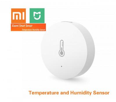 senzor temperatura si umiditate xiaomi wireless controlat prin internet foto