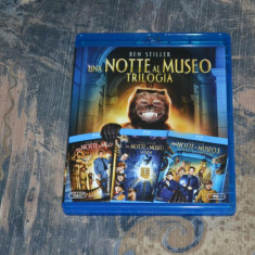 Film - Night At The Museum Trilogy [3 Filme - 3 Blu-Ray Discs] Import Italy, BLU RAY, Romana, FOX