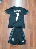 ECHIPAMENT FOTBAL REAL MADRID ,copii 4-16 ani,model NOU 2018-2019 ,7 RONALDO, YXL, Set echipament fotbal