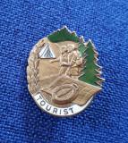 Insigna DDR - Pionieri - Turism - Drumetie - Tourist