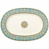 Platou oval Villeroy & Boch Samarkand Aquamarin 41cm