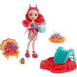 Set de joaca EnchanTimals - Papusa Cameo Crab si accesorii, Mattel