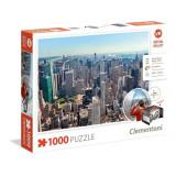 Puzzle New York - Virtual Reality, 1000 piese, Clementoni