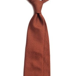 Cravata Matase Naturala Grenadine de Como foto