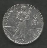 ROMANIA  2  LEI  1910   [3]  Argint 835 / 1000 ,  VF++ ,  livrare  in  cartonas