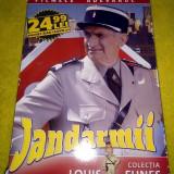 Set 6 DVD Jandarmii, cu Luis de Funes, Romana