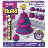 Kinetic Sand Build - Set Cofetarie, 340 g, Spin Master