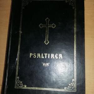 Carte veche ortodoxa,1998,PSALTIREA Prorocului si Imparatului DAVID,Trs.GRATUIT