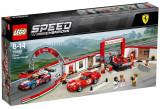LEGO Speed Champions, Garajul Suprem Ferrari 75889