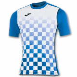 TRICOU JOMA FLAG ALBASTRU- ALB M/C- Joma-