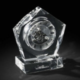 Ceas Crystal Luxury Pentagon by Chinelli Made in Italy
