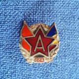 Insigna Steaua Buc. 1947 - CCA - Raritate - cu serie