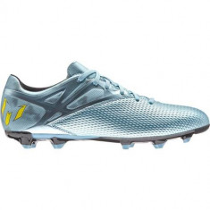 Ghete Fotbal Adidas Messi 153 FG B26950, 40 2/3, 41 1/3, Argintiu, Barbati