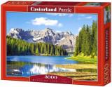 Puzzle Lacul Misurina, 3000 piese, castorland