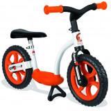 Bicicleta echilibru Confort fara pedale, portocalie, Smoby