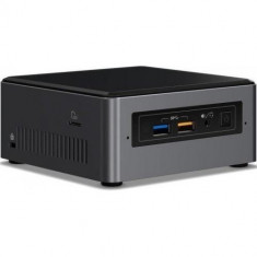 Mini Pc Intel (NUC) Next Unit of Computing BOXNUC7i7BNKQ, Intel Iris Plus Graphics 650, RAM 8GB, SSD 512GB, Intel Core i7-7567U, Windows 10