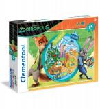 Puzzle Supercolor maxi - Zootropolis, 24 piese, Clementoni