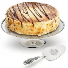 Cadou Suport Paleta de Tort Silver Chinelli made in Italy