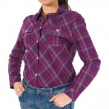 Camasa femei Zoo York Smarty Plaid #1000000009613 - Marime: XS, Maneca lunga, zoo york
