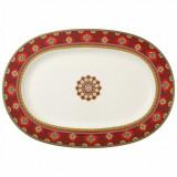 Platou oval Villeroy & Boch Samarkand Rubin 41cm