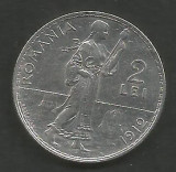 ROMANIA  2  LEI  1912   [1]  Argint 835 / 1000 ,  XF++  ,  livrare  in  cartonas