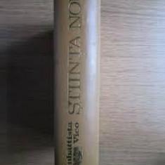 Giambattista Vico – Stiinta noua