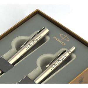 Set personalizat prin gravura stilou si pix Parker Jotter Royal Premium