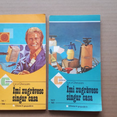 IMI ZUGRAVESC SINGUR CASA = LUCA GHERASIM - 2 volume*