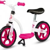 Bicicleta echilibru Confort fara pedale, roz