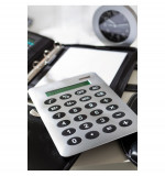 Calculator de mana A4 Buddy argintiu, Alexer