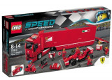 LEGO Speed Champions, F14 T si camionul echipei Ferrari