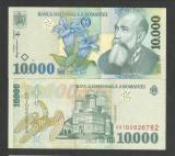 ROMANIA 10000 10.000 LEI 1999 (2000) Prefix 00 [0] ISARESCU , UNC - Hartie
