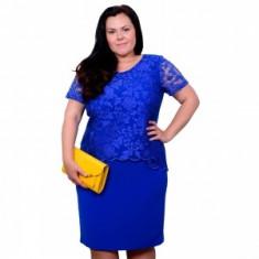 Rochie Mastex albastra, 40, 42, 44, 48, Albastru