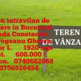 Vand teren intravilan in Bucuresti