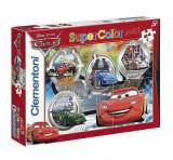 Puzzle maxi Disney Cars Grand Prix, 24 piese, Clementoni