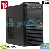 Calculator Gaming i5 2400 3.1GHz 8GB DDR3 SSD 128GB + 500GB PNY GeForce GTX 560, Intel Core i5, 8 Gb, 100-199 GB, Dell
