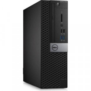 Sistem Desktop Dell Optiplex 5050 SFF, Intel HD Graphics 630, RAM 16GB, SSD 256GB, Intel Core i7-7700, Windows 10 Pro