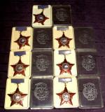 Fruntas in intrecerea socialista, Lot 7 Medalii comuniste diferite din 1964-1972