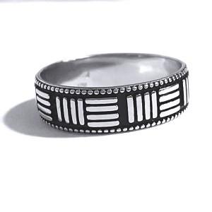Inel argint 925 cu motive grecesti foto mare