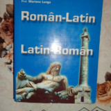 Dictionar roman - latin latin - roman 770paini- Marius Lungu