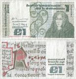 1980 (8 X), 1 pound (P-70b.10) - Irlanda!