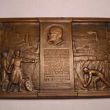 Placheta Mauriciu Blank Presedintele bancii Marmorosch Blank 1923 Storck Superba