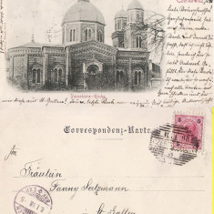 Cernauti ( Bucovina )- clasica,  rara, edit. Leon Konig, Circulata, Printata