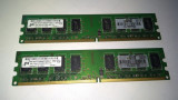 Ram 4 Gb Ram DDR2 / 800 Mhz Micron / Dual kit / PC2-6400U (1B), DDR 2, Dual channel